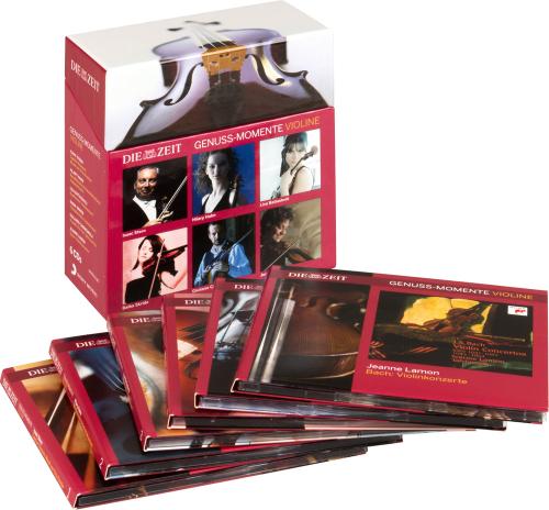 Genuss-Momente - Violine. DIE ZEIT. 6 CDs.