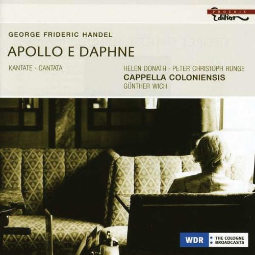 Georg Friedrich Händel. Apollo und Daphne Kantate HWV 122. CD.