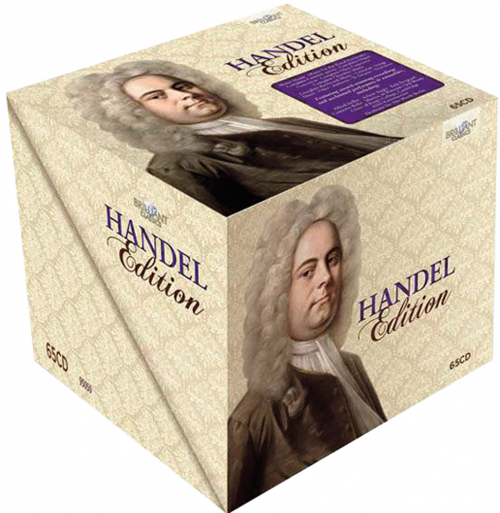 Georg Friedrich Händel Edition. 65 CDs.