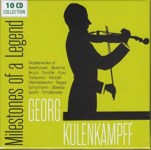 Georg Kulenkampff. Milestones of a Legend. 10 CDs.