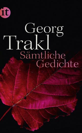 Georg Trakl. Sämtliche Gedichte.