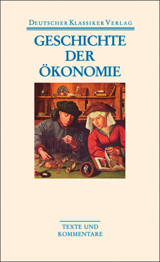 Geschichte der Ökonomie. Band 41.