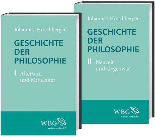 Geschichte der Philosophie 2 Bände.