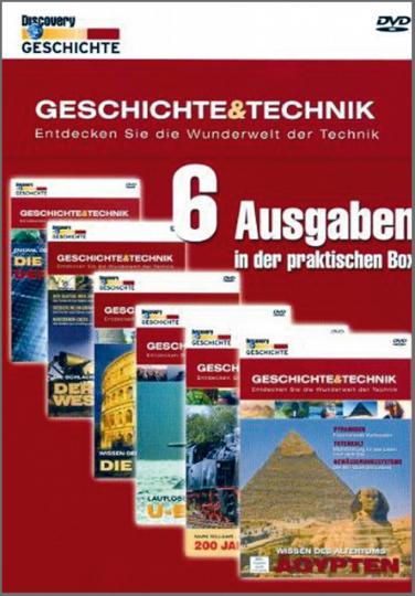 Geschichte & Technik Teil 2 - 6 DVD