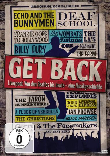 Get Back - Liverpool: Von den Beatles bis heute - eine Musikgeschichte. DVD.
