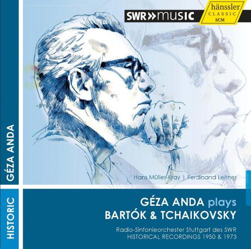 Géza Anda plays Bartók & Tschaikowski. CD.