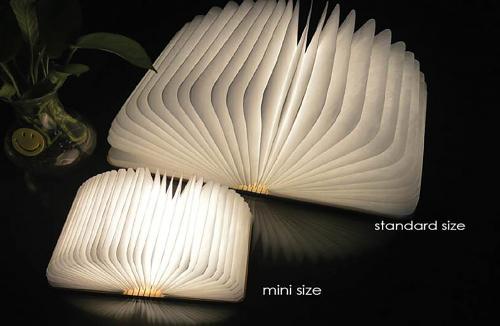 Gingko Smart Booklight Buchlampe klein hell