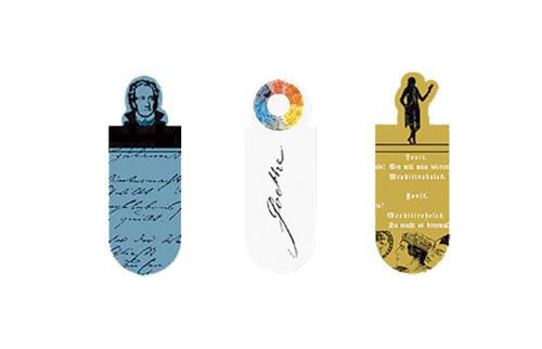 Goethe Magnet Lesezeichen