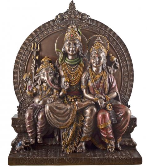 Götter Shiva, Parvati, Ganesha