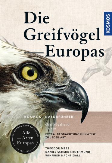 Greifvögel Europas. Greifvögel und Falken. Alle Arten Europas.