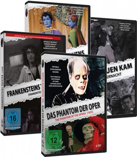 Gruselklassiker-Edition. 5 DVDs.