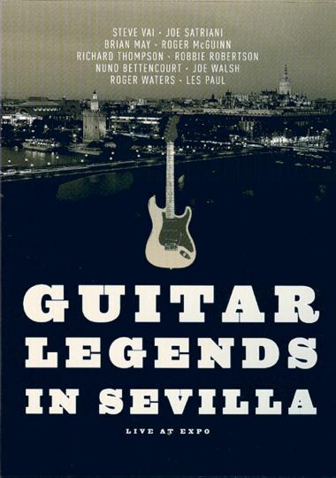 Guitar legends live in Sevilla DVD