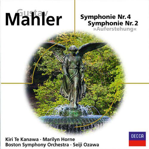 Gustav Mahler. Symphonien Nr. 2 & 4. 2 CDs.