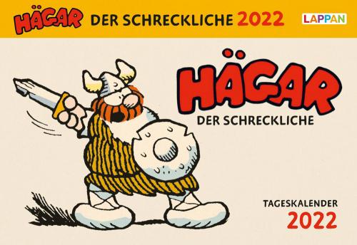 Hägar der Schreckliche. Tageskalender 2022.