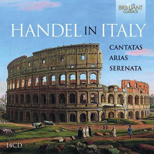 Händel in Italien. Kantaten, Arien, Serenata. 14 CDs.