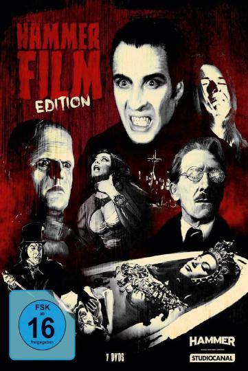 Hammer Film Edition. 7 DVDs.