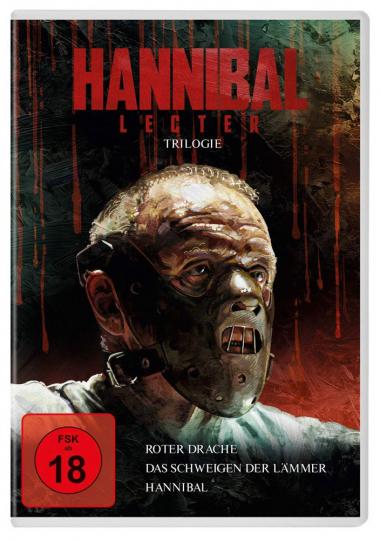 Hannibal Lecter Trilogie. 3 DVDs.