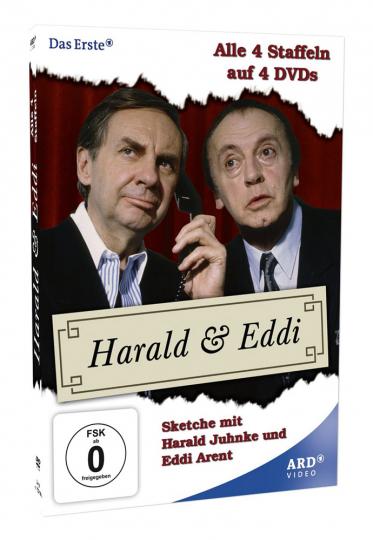 4 DVDs Harald & Eddi (Komplette Serie). 4 DVDs.