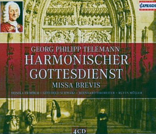 Harmonischer Gottesdienst 4 CDs