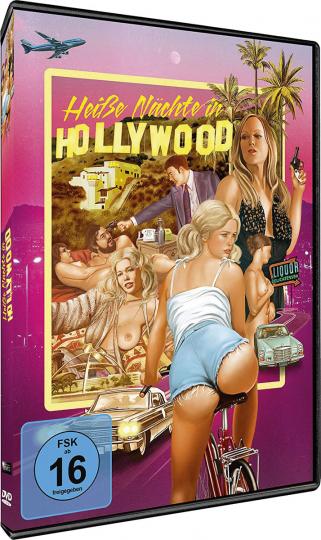 Heisse Nächte in Hollywood. DVD.