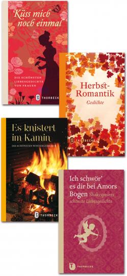 Herbstromantik. Die schönsten Gedichte. 4 Bände im Paket.