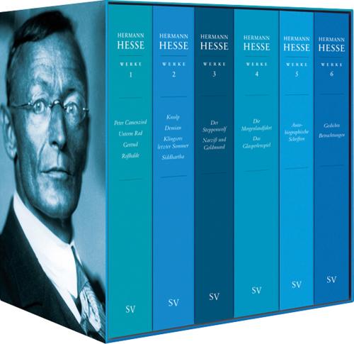 Hermann Hesse. Ausgewählte Werke in sechs Bänden. Kassette.