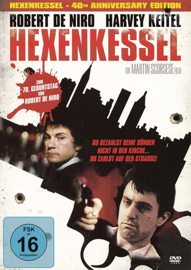 Hexenkessel. Mean Streets. 40th anniversary edition. DVD.