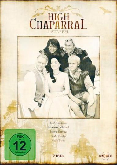 High Chaparral 7 DVDs