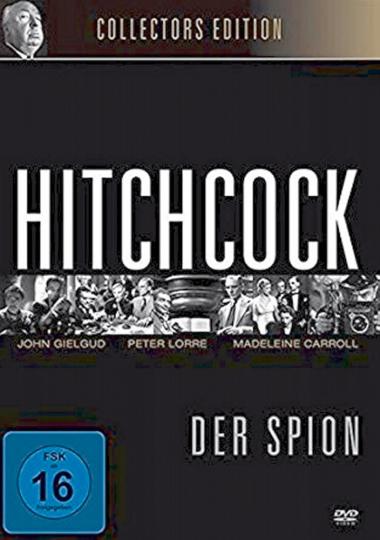 Hitchcock , Der Spion DVD