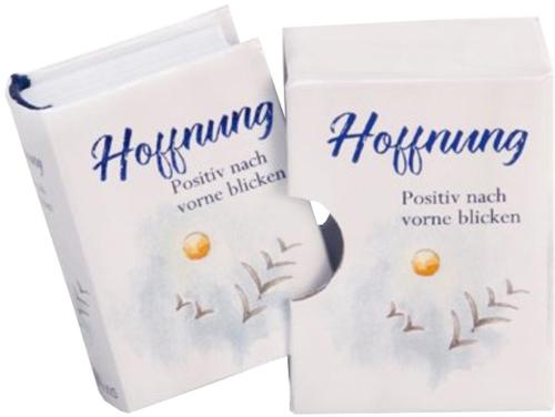 Hoffnung - Minibuch im Schuber mit Folienprägung