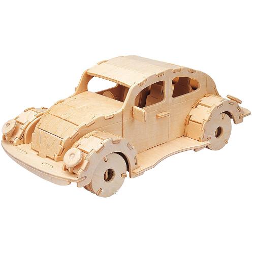 Holzbausatz Käfer.