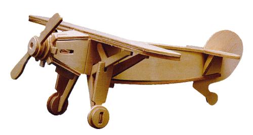Holzbausatz Sportflugzeug