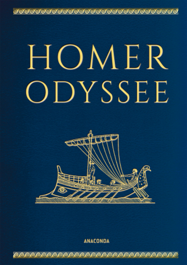 Homer. Odyssee. Cabra-Ledereinband