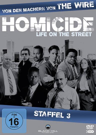 Homicide Season 3. 3 DVDs.