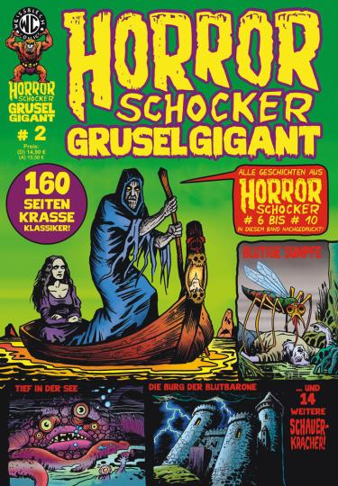 Horrorschocker Grusel Gigant #2. Alle Geschichten aus Horrorschocker 6 bis 10. Comic.