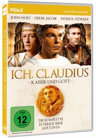 Ich, Claudius, Kaiser und Gott. 5 DVDs.