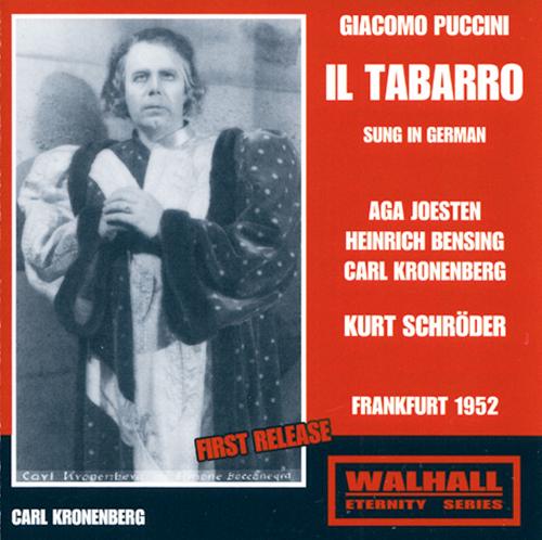 Il Tabaro (Der Mantel) CD