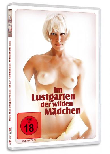 Im Lustgarten der wilden Mädchen. DVD.