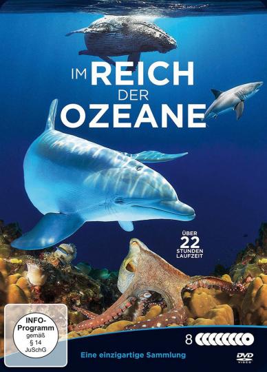 Im Reich der Ozeane 8 DVDs