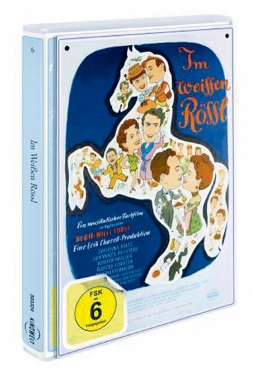 Im weißen Rössl DVD + Blechschild