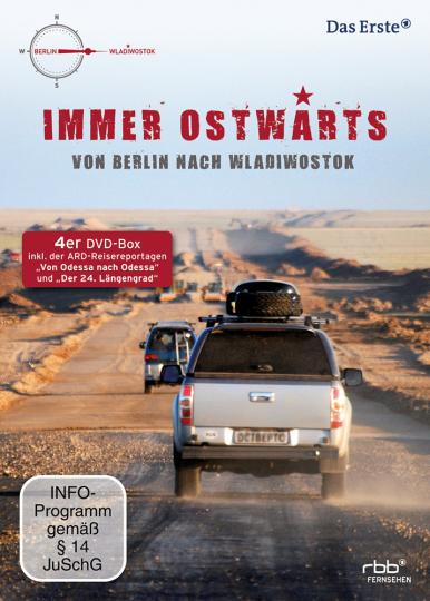 Immer Ostwärts - von Berlin nach Wladiwostok (4DVD)