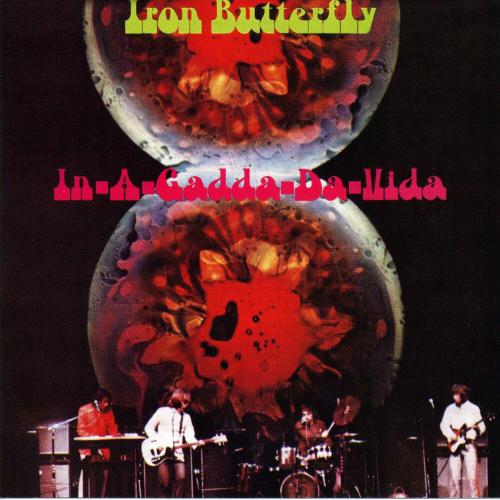 Iron Butterfly. In-A-Gadda-Da-Vida. CD.