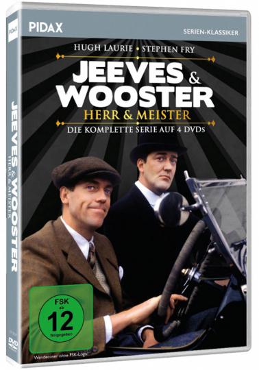 Jeeves & Wooster - Herr & Meister - Komplettbo. 4 DVDs