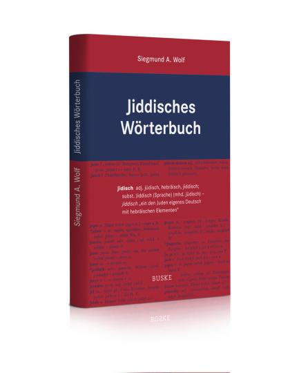 Jiddisches Wörterbuch.