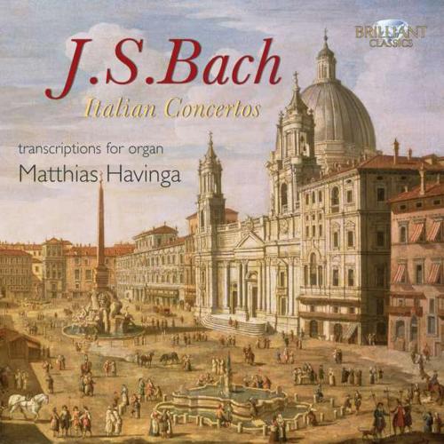 Johann Sebastian Bach. Konzerte für Orgel BWV 592-594, 596, 974. CD.