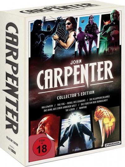 John Carpenter (Collector's Edition). 7 DVDs.