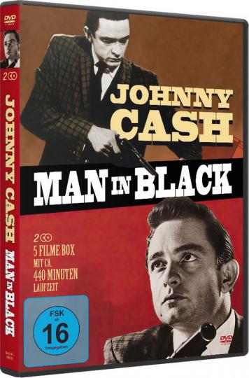Johnny Cash - Man in Black. 2 DVDs.