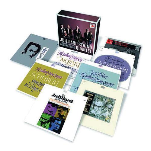 Juilliard String Quartet. The Complete Epic Recordings 1956-1966. 11 CDs.