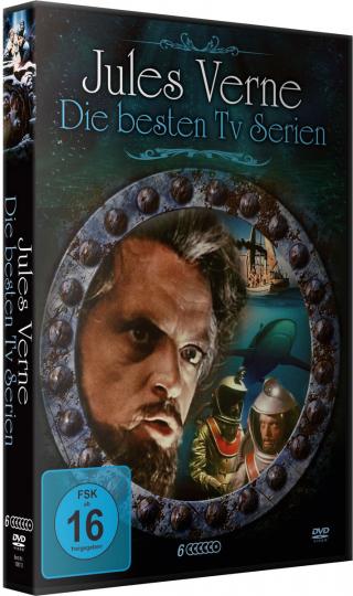 Jules Verne - Die besten TV Serien. 6 DVDs.