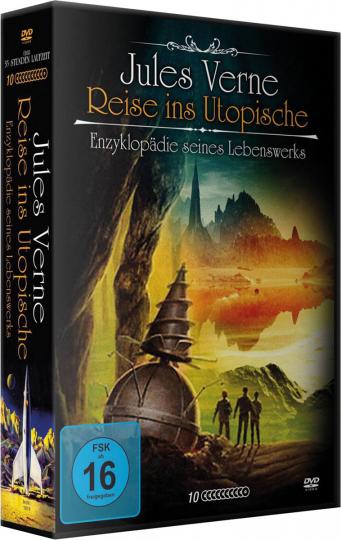 Jules Verne - Reise ins Utopische - Enzyklopädie seines Lebenswerks. 10 DVDs